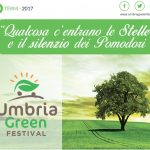 Umbria Green Festival: il primo Festival Green in Umbria al PalaSì